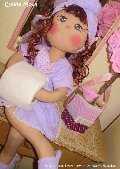 muñeco portarollos 67