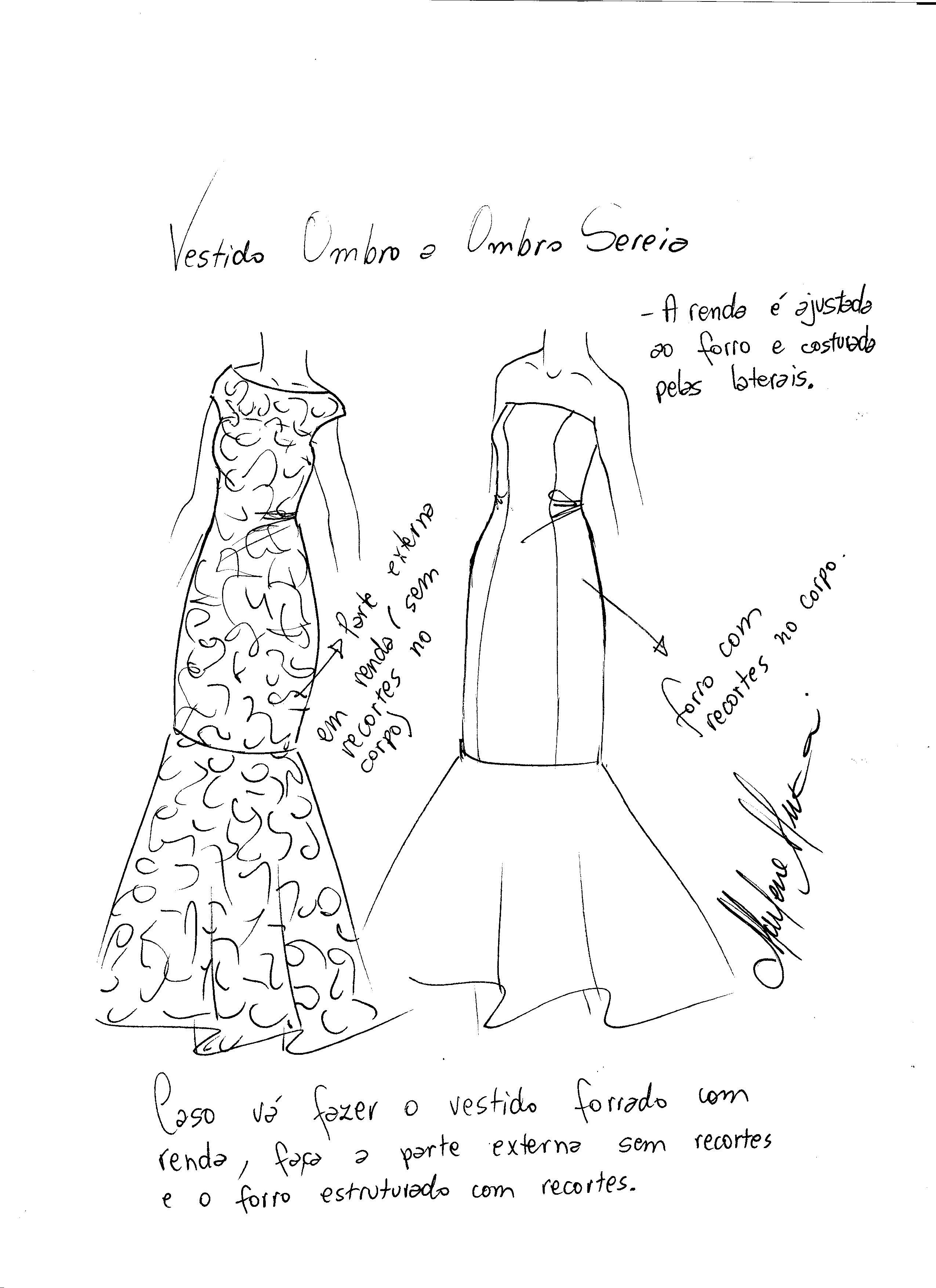 Como hacer un vestido largo tipo sirena