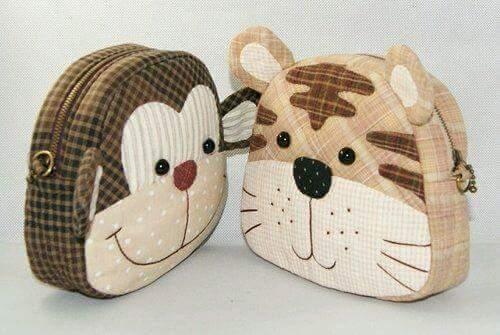 bolsos de mono y gato