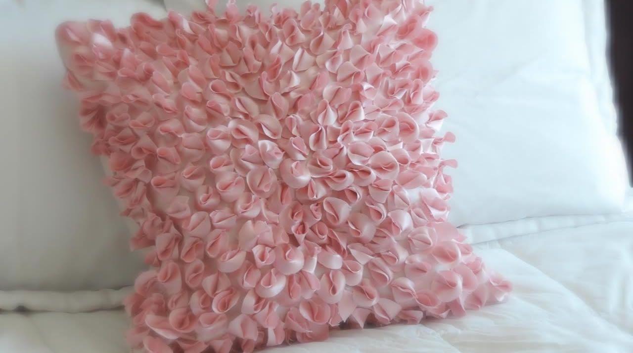 Como hacer cojines decorativos - Patrones gratis