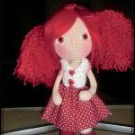 Muñeca amigurumi Naiara