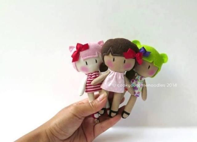 muñecas de fieltro 2