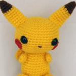 Pikachu amigurumi