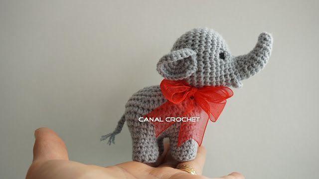 SONAJERO ELEFANTE DE CROCHET 13166 | Juguetes de bebé de ganchillo ... | 359x640