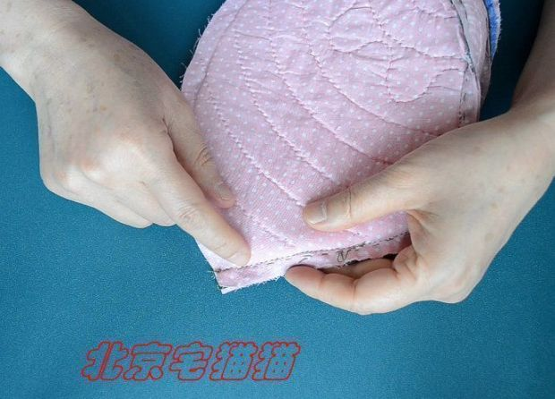 bolso acolchado con asas diy (16)