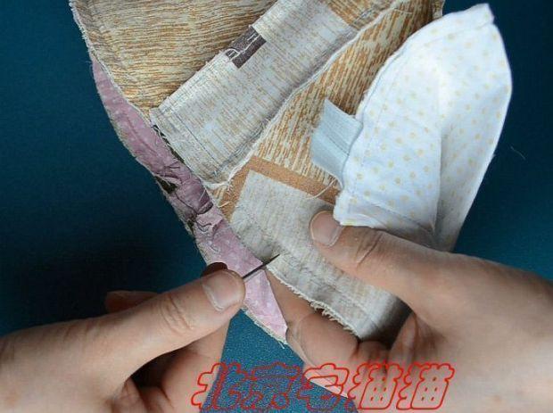 bolso acolchado con asas diy (32)