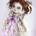 Muñeca de tela Felicidad
