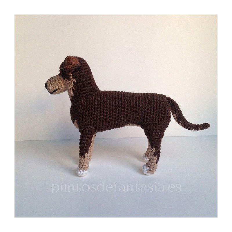 Patrón amigurumi de perro generico - Patrones gratis