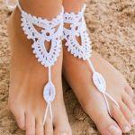 Como hacer pulseras para pies descalzos