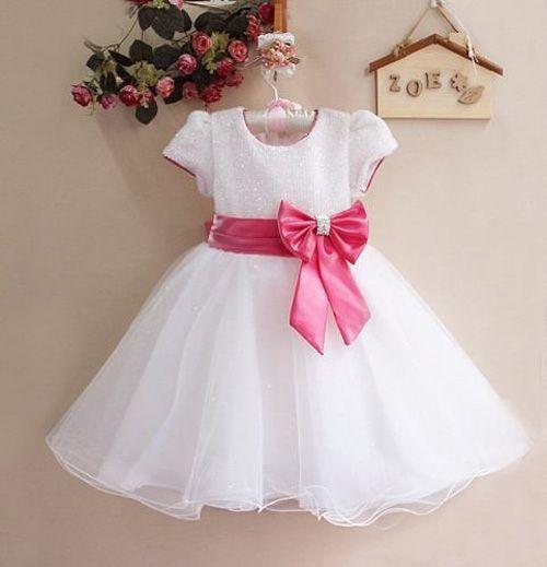 9887b067e Vestido para niñas con patrones - Patrones gratis