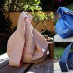 Como hacer un bolso japonés reversible