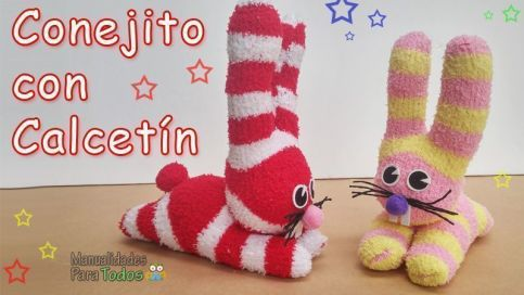 conejito-calcetin