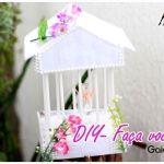 DIY jaula decorativa con patrones