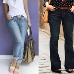 Patrón de pantalones vaqueros