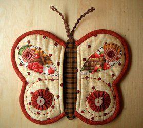manopla horno mariposa