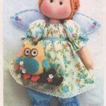 Patrón de muñeca Ángel
