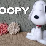 Snoopy en fieltro
