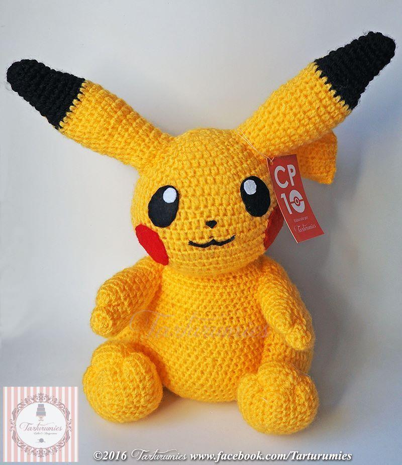 Patrón amigurumi de Pikachu - Patrones gratis