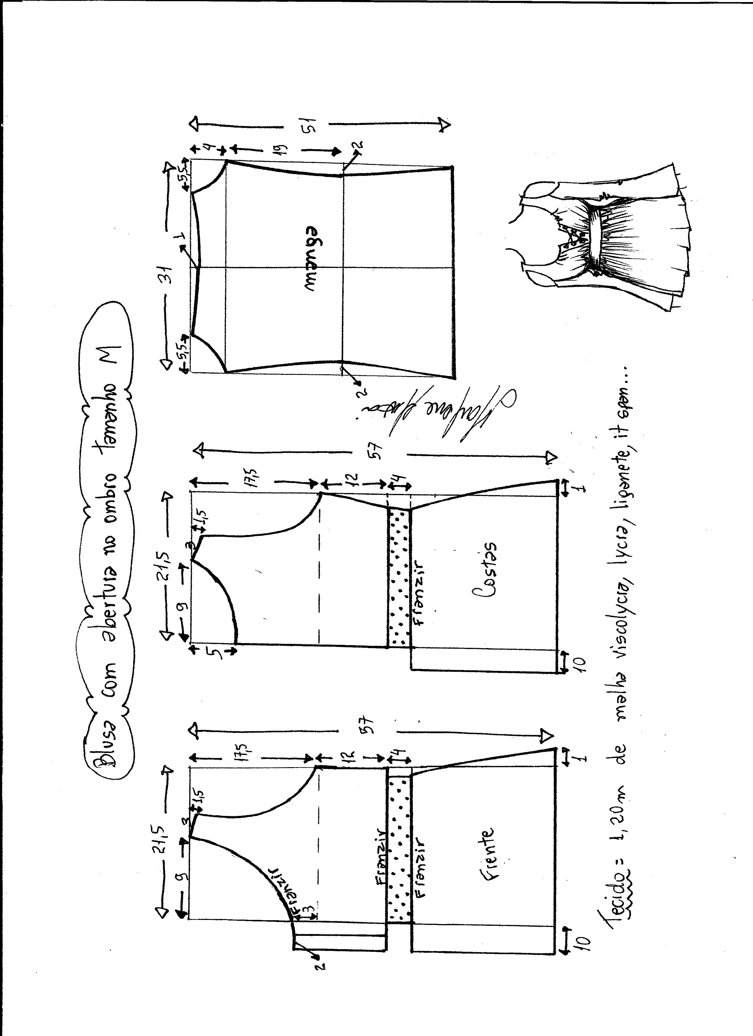 Famoso Patrón De Crochet Para Los Puños De Arranque Viñeta - Coser ...