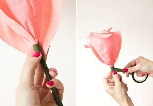 rosas gigantes crepe 8