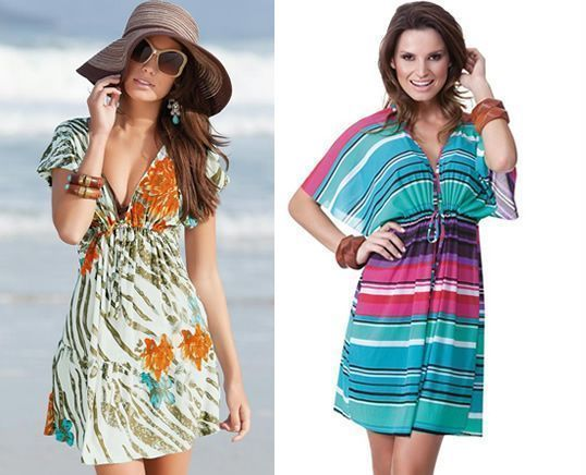 Vestido De Playa Con Patrón Patrones Gratis