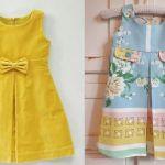Vestido plisado infantil