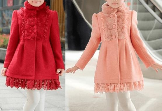 b584441e7 Patrón para hacer un abrigo de niña - Patrones gratis