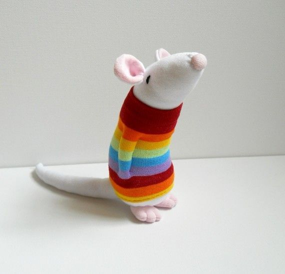 Diy de mu ecos de animales realizados con calcet n for Munecos con calcetines