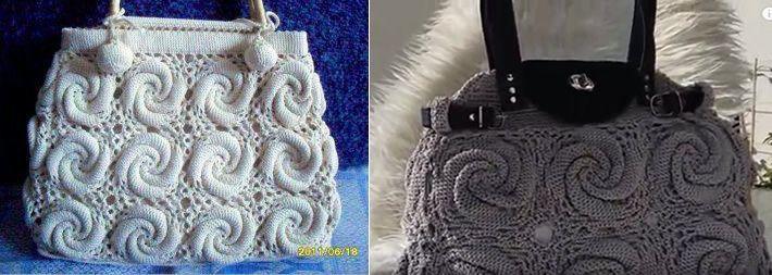 Tutorial bolso a crochet patrones gratis - Bolsos tejidos a ganchillo ...