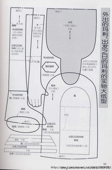 muneca-japonesa-patron