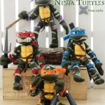 Como hacer una tortuga Ninja con calcetines