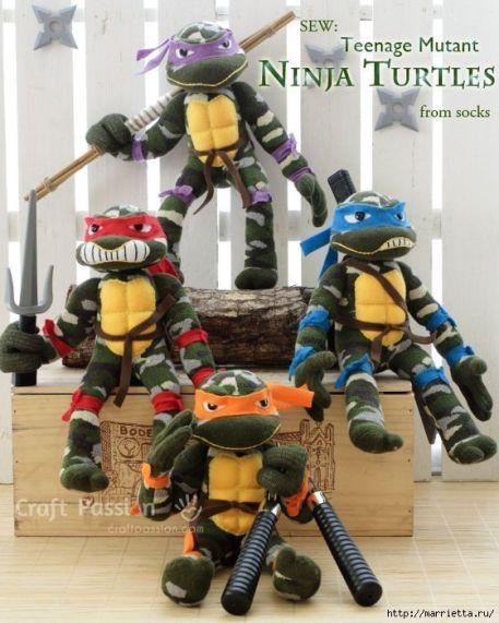 tortugas-ninja-calcetines