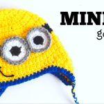Tutorial de Gorro de Minion a Crochet – TODAS LAS TALLAS