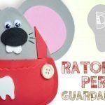 DIY Guarda dientes de Ratoncito en Goma Eva