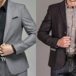 Patrón de chaqueta-americana para hombres