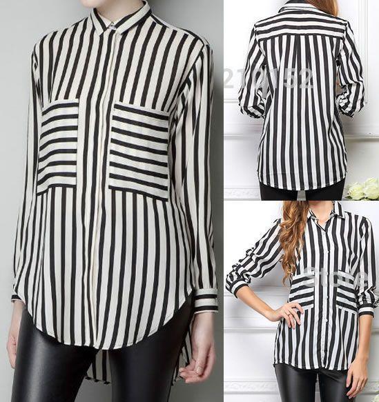 Patrón de camisa para mujer