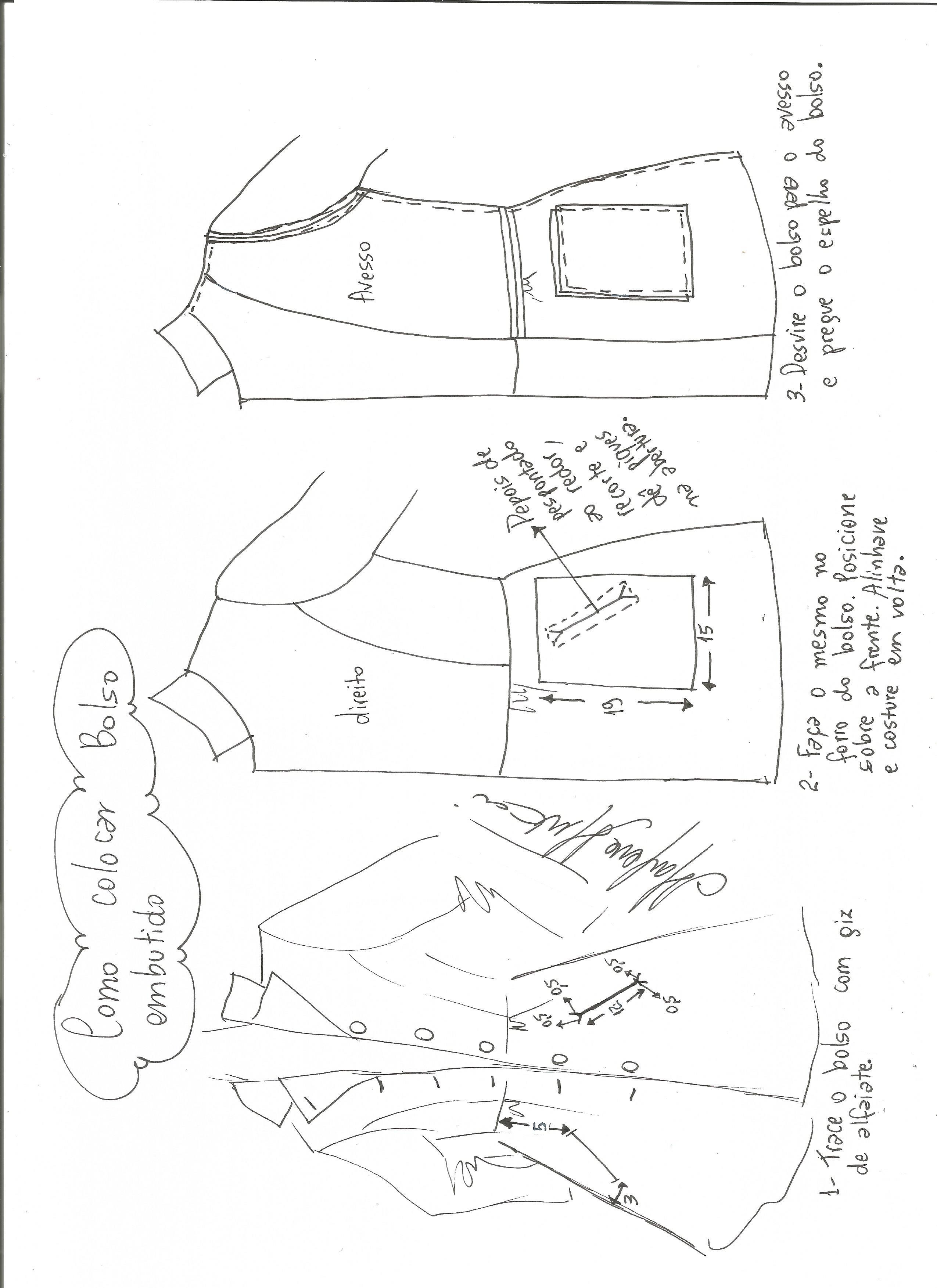 Patrón de abrigo largo entallado - Patrones gratis