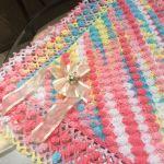 Tutorial de manta a crochet