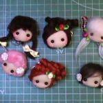 DIY para hacer Broches y colgantes con carita de muñecas