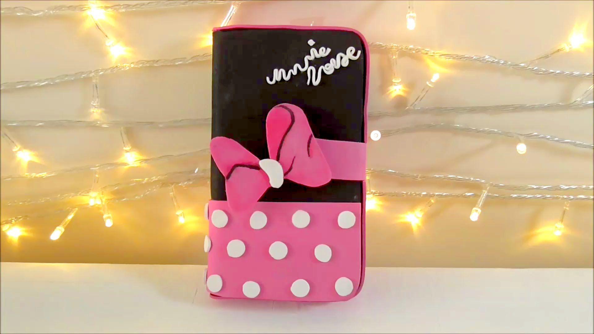 acfa2845a65 Diy funda de Minnie Mouse para teléfono móvil - Patrones gratis