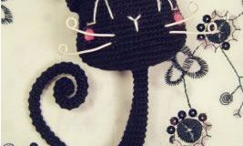 Amigurumi Gato Negro : Patrones de gatos archivos patrones gratis
