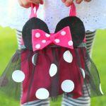 Cómo hacer un bolso de Minnie Mouse