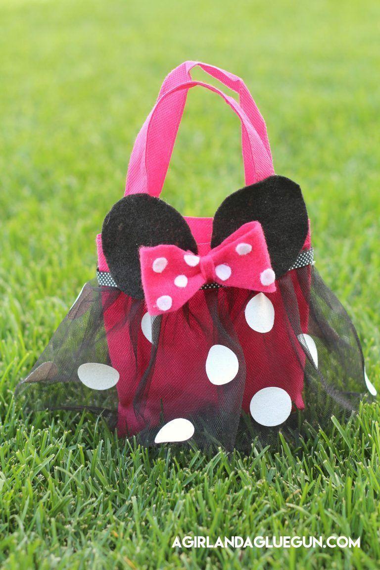 2294fc7fe Cómo hacer un bolso de Minnie Mouse - Patrones gratis
