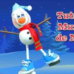 DIY muñeco de nieve divertido en goma eva