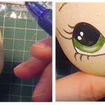 Como pintar la cara de las muñecas de una manera sencilla