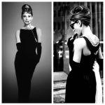 Patrón del vestido de lujo de Audrey Hepburn