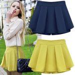 Patrón Short falda