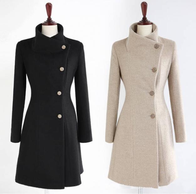 Patrones para hacer un abrigo de mujer