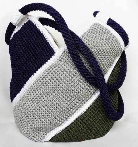 Bolso a crochet molino de viento patrones gratis - Como hacer bolsos tejidos ...