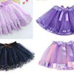 Patrón falda tutu para niñas